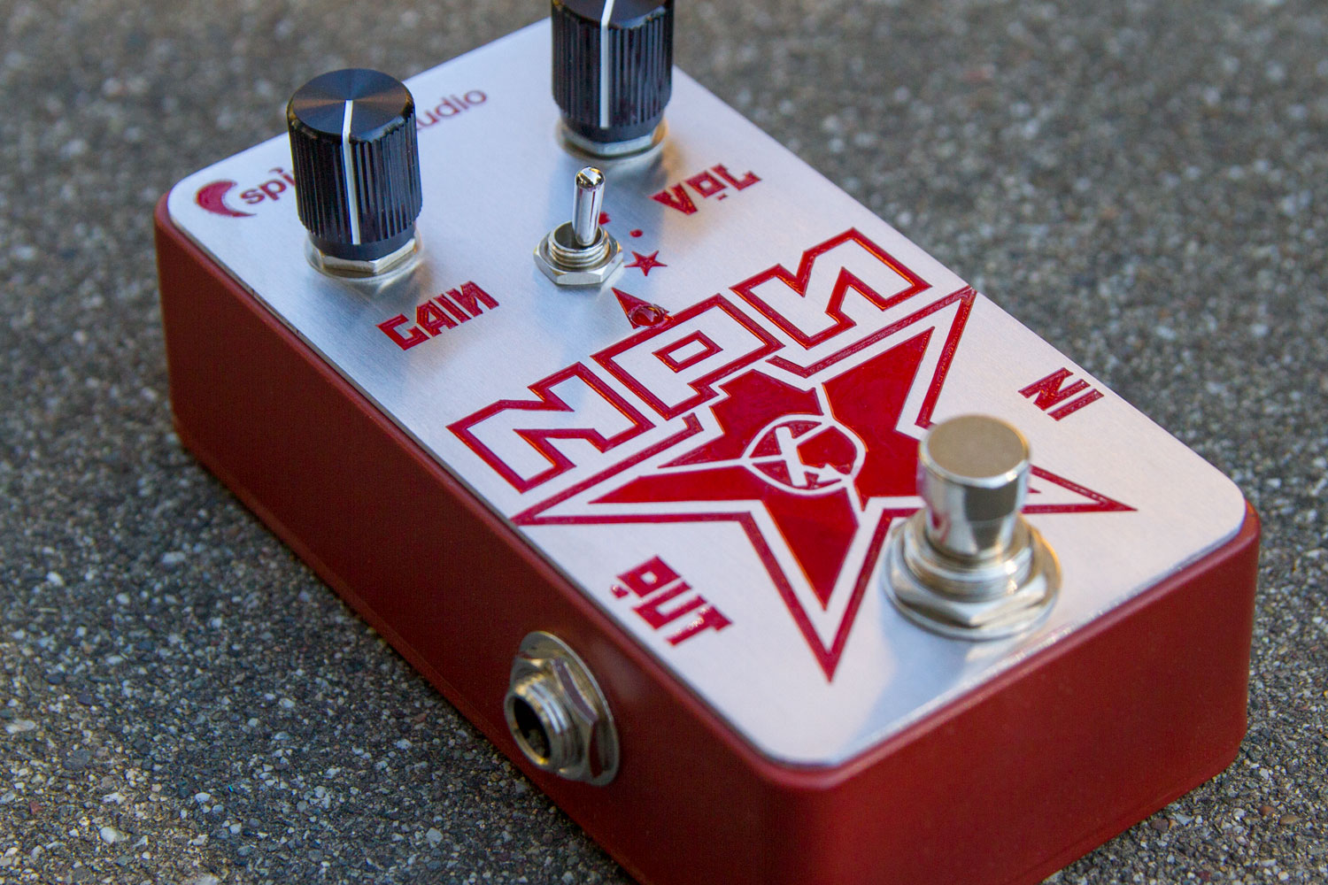 Creations Spindrift Audio Fuzz Box By All Fet Npn Nos Germanium Pedal